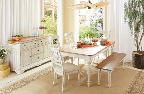 Cresent Fine Furniture Cottage Dining Room Group At Garden City Furniture