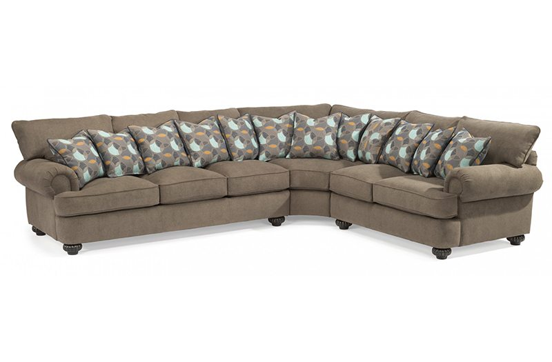 Flexsteel Patterson Sectional at Garden City Furniture