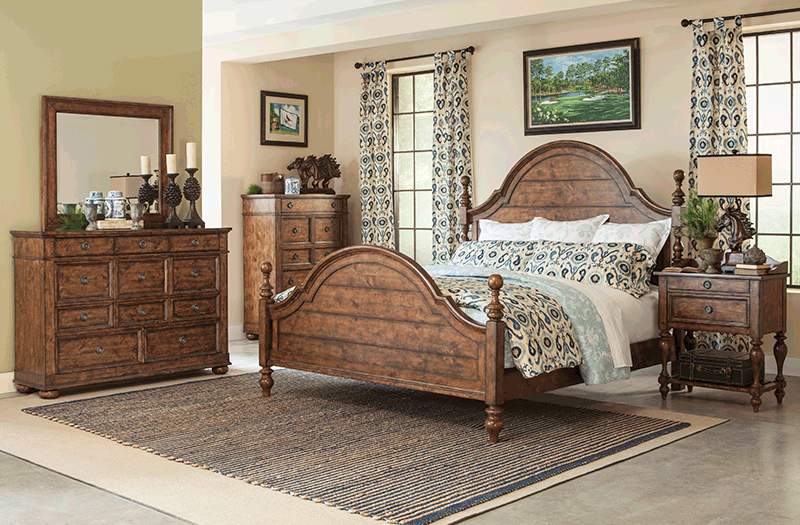 southern pines bedroom group at garden city furniture