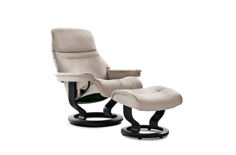 Stressless Sunrise Chair Large by Ekornes at Garden City Furniture